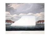 Petowacx  Formation of an Iceberg  Illustration from 'A Voyage of Discovery'  1819