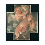 Putti Carrying Mitre  1613