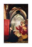 The Annunciation  Detail from the Isenheim Altarpiece  Ca 1515