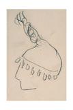 La Clownesse  Sketch of Jane Avril