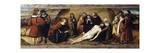 Mourning Dead Christ  1513  Predella of Altarpiece of Ognissanti