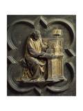 Church Father  Bronze Panel