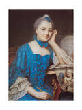 Portrait of Marie Fel  C1753