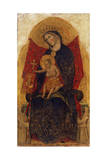 Madonna and Child  from Polyptych Madonna and Child with Saints  1349