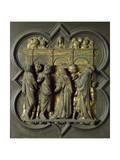 Pentecost  Bronze Panel
