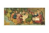King Belshazzar's Banquet  C1543-44
