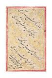 Nasta'Liq Quatrain  1606-7