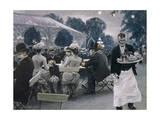 An Evening in the Tivoli Gardens in Copenhagen  1890