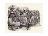 Longbowmen at the Battle of Falkirk