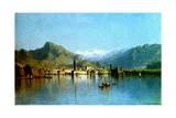 Lake Garda  Italy  1863