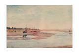 Stranded Fishing Boats  Maldon  1933
