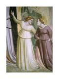 Figures of Ladies  Detail from Stories of Virgin: Marriage of Virgin