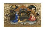 Depiction of Nativity  Detail of Predella of Coronation of Virgin  1414