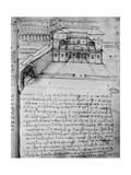 Architectural Sketch for an 'Ideal City'  Fol 16