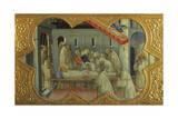 Funeral of St Bernardino  Detail of Predella of Coronation of Virgin