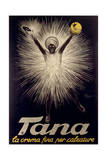 Advertisement for Tana Shoe Polish  Poster  1925