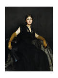 Entranced  or Lady in Black  1886-87