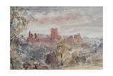 Richmond Castle  Yorkshire  1903