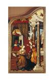The Annunciation  from Left Panel of Altar of Wettenhausen  1523-1524