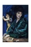 Maria Zambaco  the Artist's Mistress  1870