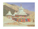 The Death Memorial in Ladakh  1875