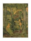 Young Women Bathing  1892