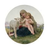 La Vierge a L'Agneau  1903