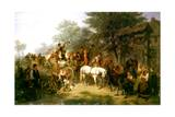 A Village Wedding  1859