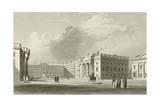 Parliament Square in Dublin