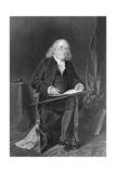Seated Portrait of Benjamin Franklin