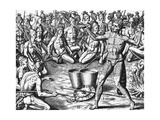 Florida Indians Saturibo War Council
