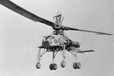 View of Howard Hughes XH 17 Helicopter