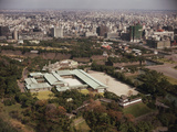 Aerial of Japanese Imperial Palace