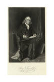 Portrait of Benjamin Franklin Sitting in Chair