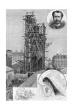 The Bartholdi Statue of Liberty Drawn by John Durkin See Page 47