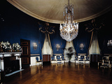 The Blue Room in the White House