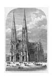 St Patrick's Cathedral  Fifth Avenue  between Fiftieth and Fifty-First Streets  New York