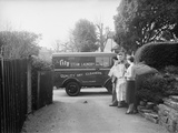 City Steam Laundry Van  Exeter  C1945-50