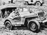 General Douglas Macarthur  Riding a Jeep in Leyte on His Return to the Philippines  October 1944