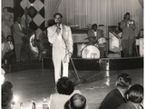 Cab Calloway Performing at the Clover Club  C1950