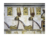 Egypt  Thebes  Luxor  Valley of the Kings  Tomb of Ramses III  Mural Painting of Serpent Kings