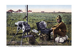 """A Field Wireless in Operation  Signal Corps  USA""  1916"