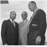 Martin Luther King and Joe Louis  10 February 1964