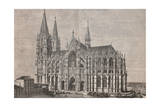 The Cathedral in Cologne from L'Illustrazione Italiana of 14th November 1880  Germany 19th Century