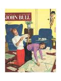 Front Cover of 'John Bull'  April 1958