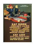 Us Food Administration Poster  1st World War  1918