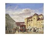 Austria  Vienna  View of Freyung Square Painting