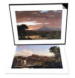 Mount Ktaadn (Katahdin) & New England Scene Set