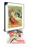 Reproduction of Poster Taverne Olympia Ad  1899 & Poster Quinquina Dubonnet Aperitif Ad  1895 Set