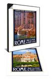 Trevi Fountain  Roma Italy 4 & St Peter's Basilica  Roma Italy 6 Set